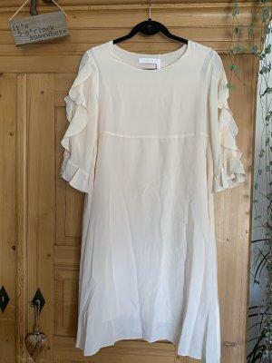 See by Chloé Sukienka midi różany Jedwab