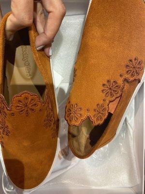 See by Chloé Zapatos sin cordones blanco-coñac