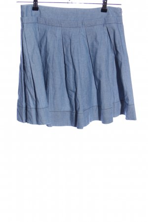 See by Chloé Circle Skirt blue flecked casual look
