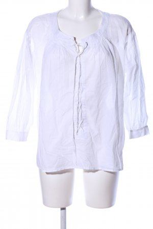 See by Chloé Blusa trasparente bianco stile casual