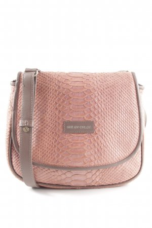 See by Chloé Umhängetasche pink Animalmuster Casual-Look