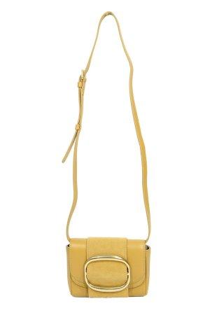 See By Chloé Umhängetasche in Gelb aus Leder