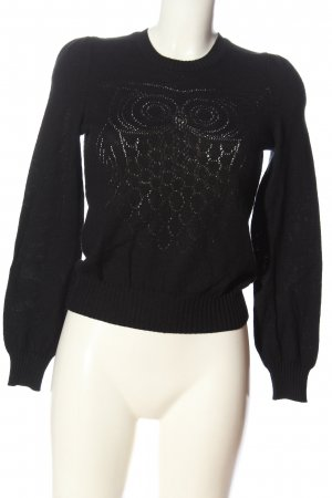 See by Chloé Maglione di lana nero stile casual