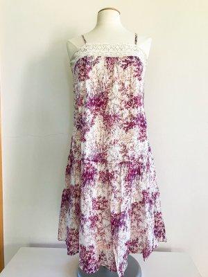 See U soon Kleid, Sommerkleid, Flowerprint, Spaghetti Träger, Gr. 40 / L