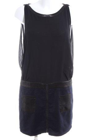 See u soon Midikleid schwarz-blau Casual-Look