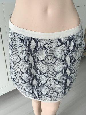 See u soon Spódnica mini szary-w kolorze białej wełny