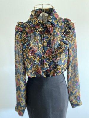 See u soon Zijden blouse veelkleurig