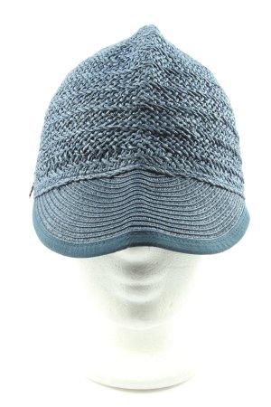 Seeberger Gorra de béisbol azul moteado look casual