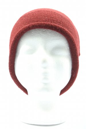 Seeberger Beanie red casual look