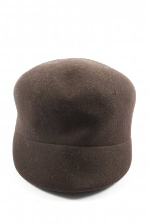 Seeberger Vilten hoed bruin casual uitstraling
