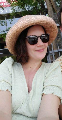 Seeberger Kapelusz przeciwsłoneczny piaskowy brąz-beżowy