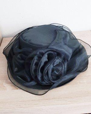 Seeberger Cappello a falde larghe nero