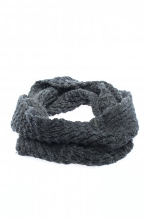 Seeberger Snood black cable stitch casual look