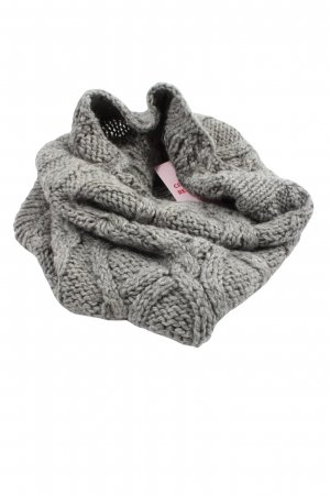Seeberger Tube Scarf light grey flecked casual look