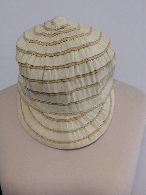 Seeberger Kapelusz przeciwsłoneczny jasnobeżowy-beżowy