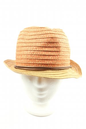 Seeberger Straw Hat primrose-red casual look