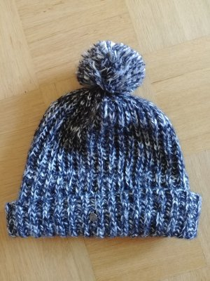 Seeberger Knitted Hat multicolored mixture fibre