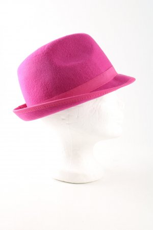 Seeberger Woolen Hat pink business style