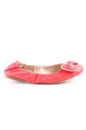 SeeByChloé faltbare Ballerinas rot Business-Look