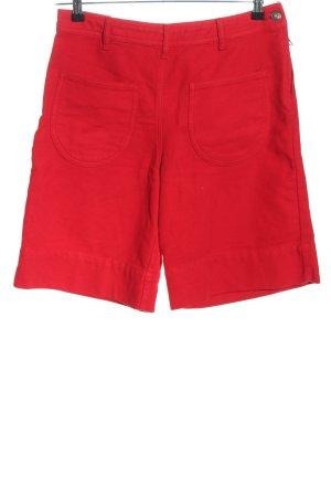 SeeByChloé High-Waist-Shorts rot Casual-Look