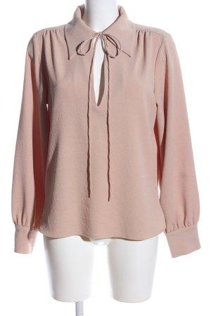 SeeByChloé Langarm-Bluse pink Business-Look