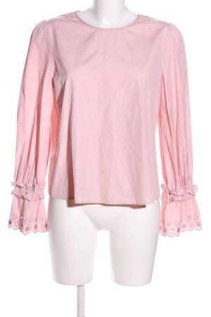 SeeByChloé Langarm-Bluse pink Casual-Look