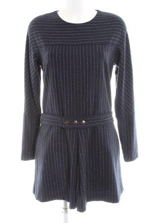 SeeByChloé Langarmkleid blau-weiß Streifenmuster Business-Look