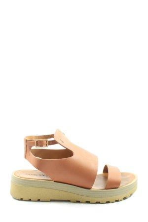 SeeByChloé Platform Sandals nude casual look