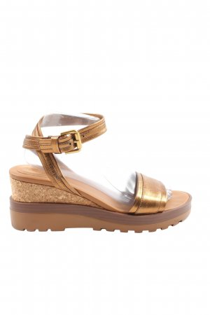SeeByChloé Platform Sandals bronze-colored casual look