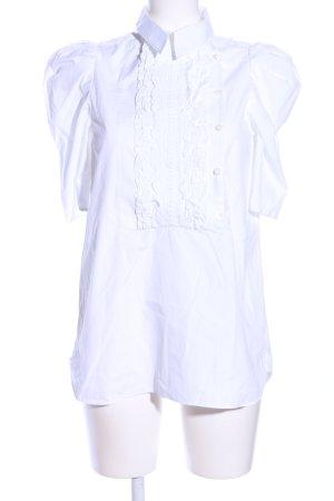 SeeByChloé Blusa con volantes blanco estilo «business»