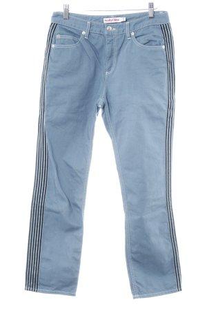 SeeByChloé Straight-Leg Jeans Streifenmuster Casual-Look