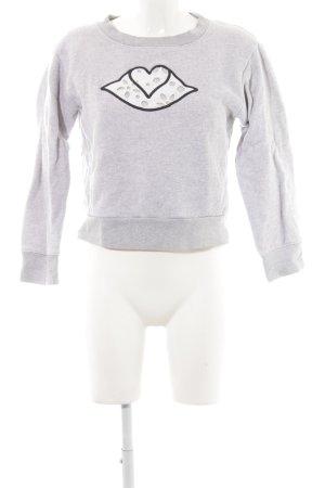 SeeByChloé Sweatshirt Motivdruck Street-Fashion-Look