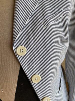 Gant Klassischer Blazer blu scuro-bianco