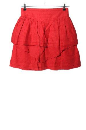 Seeshaupter Werkstatt Gonna lunga stropicciata rosso stile casual