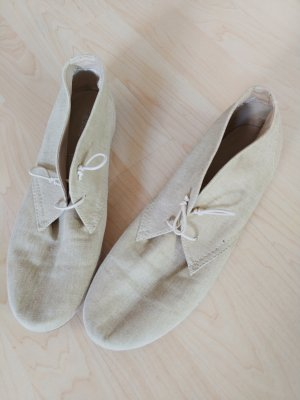 Graceland Chaussures bateau beige clair