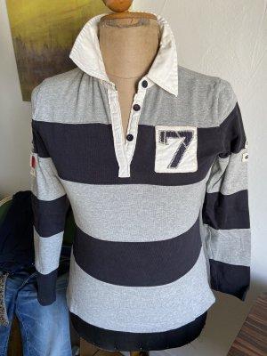 Gaastra Polo Shirt dark blue-light grey