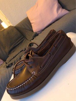 Sailing Shoes dark brown