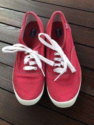 Keds Chaussures bateau rouge