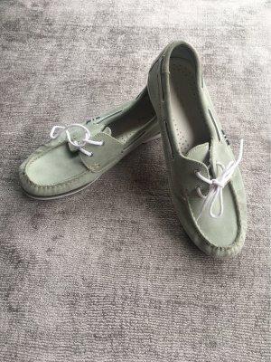 Pier one Zapatos de marinero verde grisáceo