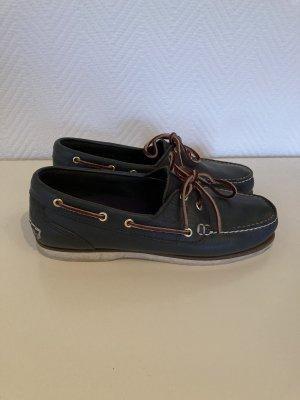 Timberland Chaussures bateau bleu foncé