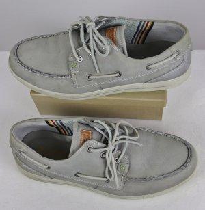 Ecco Zapatos de marinero multicolor Cuero