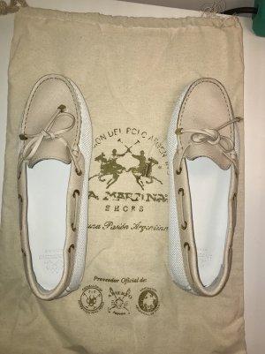 La Martina Zapatos de marinero multicolor Cuero