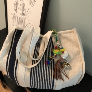 Star mela Canvas Bag multicolored cotton