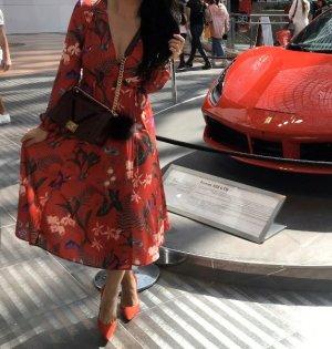H&M Robe rouge