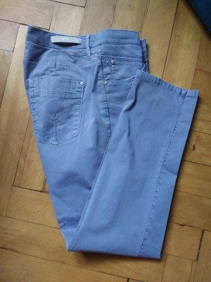 Brax Spodnie z pięcioma kieszeniami błękitny-jasnobeżowy Bawełna