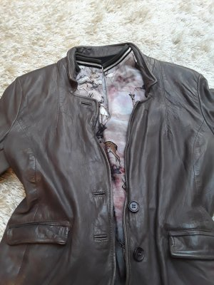 Muubaa Leather Jacket multicolored leather