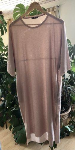 Sehr cooles, langes Kleid von Zara. Mit Taschen. Raw Edges