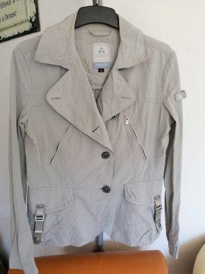 Sehr Edel Peuterey Jacke Silber Grau Blazer gr 38