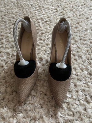 Guess High Heels beige leather