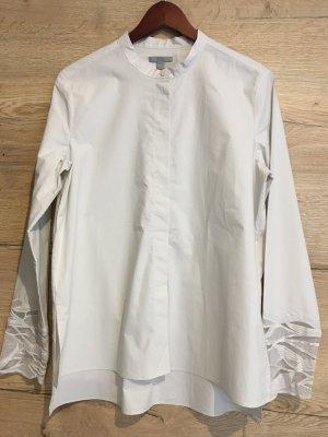 COS Camicia a maniche lunghe crema-grigio chiaro